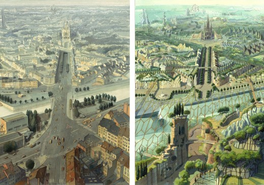 The Art of Solarpunks: Luc Schuiten